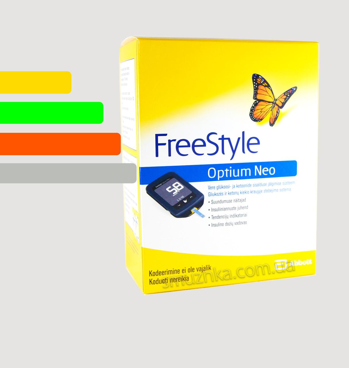 Глюкометр Freestyle Optium Neo - Фристайл Оптиум Нео