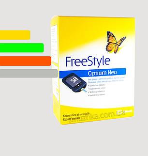 Глюкометр Freestyle Optium Neo - Фристайл Оптиум Нео, фото 2