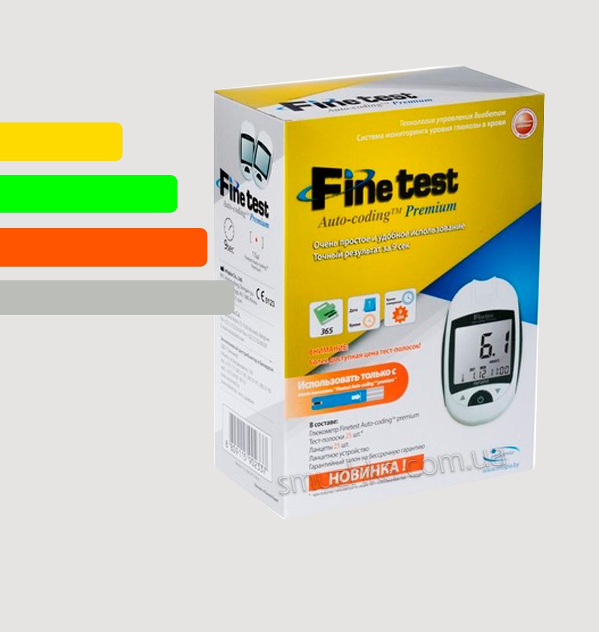 Глюкометр Fine Test Premium - Файнтест