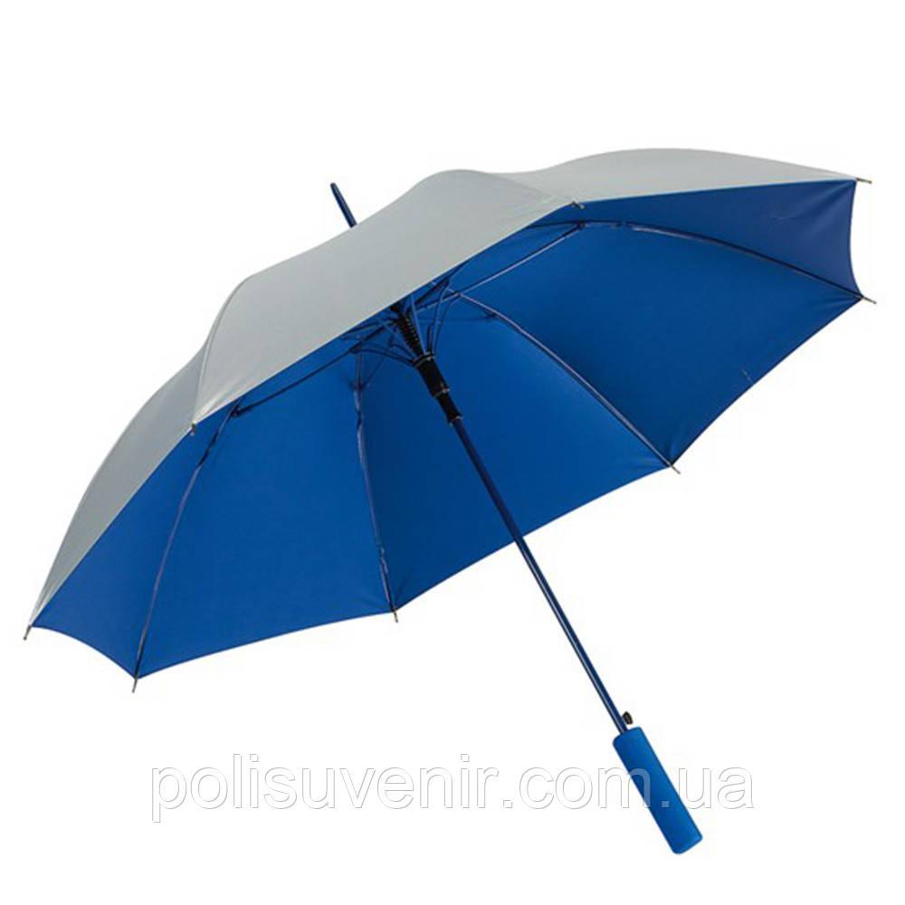 Яскрава двоколірна парасолька-тростина