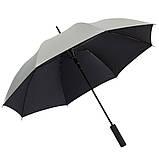 Яскрава двоколірна парасолька-тростина, фото 3