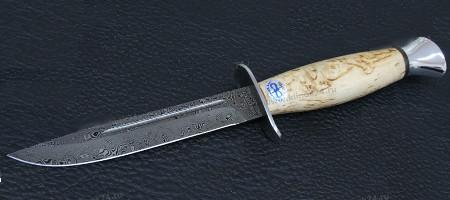 "Нож ""АиР""  ""Финка-2"" (карельская береза) ZD-0803"