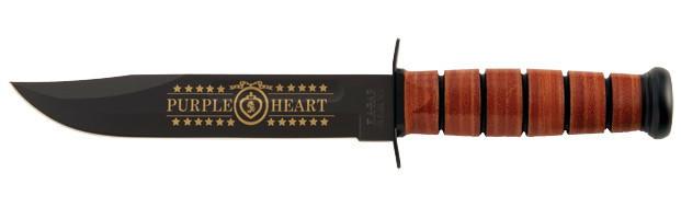 "9157 Нож KA-BAR ""US Navy Purple Heart"""