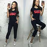 """Женский костюм """"Levis"""": футболка и штаны (6 цветов), фото 2"""