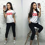 """Женский костюм """"Levis"""": футболка и штаны (6 цветов), фото 4"""