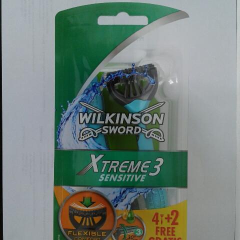 Станки одноразовые мужские для бритья Schick Wilkinson Sword  Xtreme sensetiv 4+2 шт. (Шик Вилкинсон Экстрим)