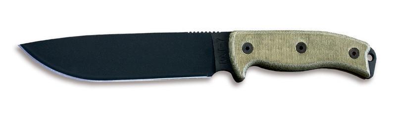 08604 Нож Ontario RAT-7, зеленая микарта