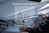 Хром накладки на передние фары Kia Sportage III SL (киа спортаж/спортейдж 2010-2015), фото 2