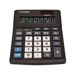 Калькулятор Citizen CMB801-BK настільний, 8р., фото 2