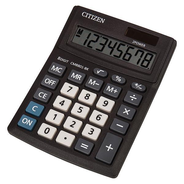 Калькулятор Citizen CMB801-BK  настольный, 8р.