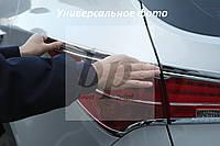 Хром накладки на стопы (задние фары) Chevrolet Cruze (шевроле круз) 2008+