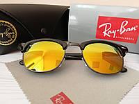 Солнцезащитные очки Ray Ban Рэй Бэн Клабмастер оранжевые (реплика) 81826cf76fe