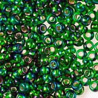Чешский бисер для рукоделия Preciosa (Прециоза) оригинал 50г 33129-57129-10 Зеленый
