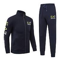 Спортивный костюм EA7 Emporio Armani Athletic Cotton Tracksuit 88279 L Темно-синий (88279)