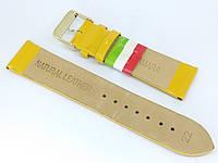Ремешок для часов Maknamara MK00YE01-22 22 мм Желтый