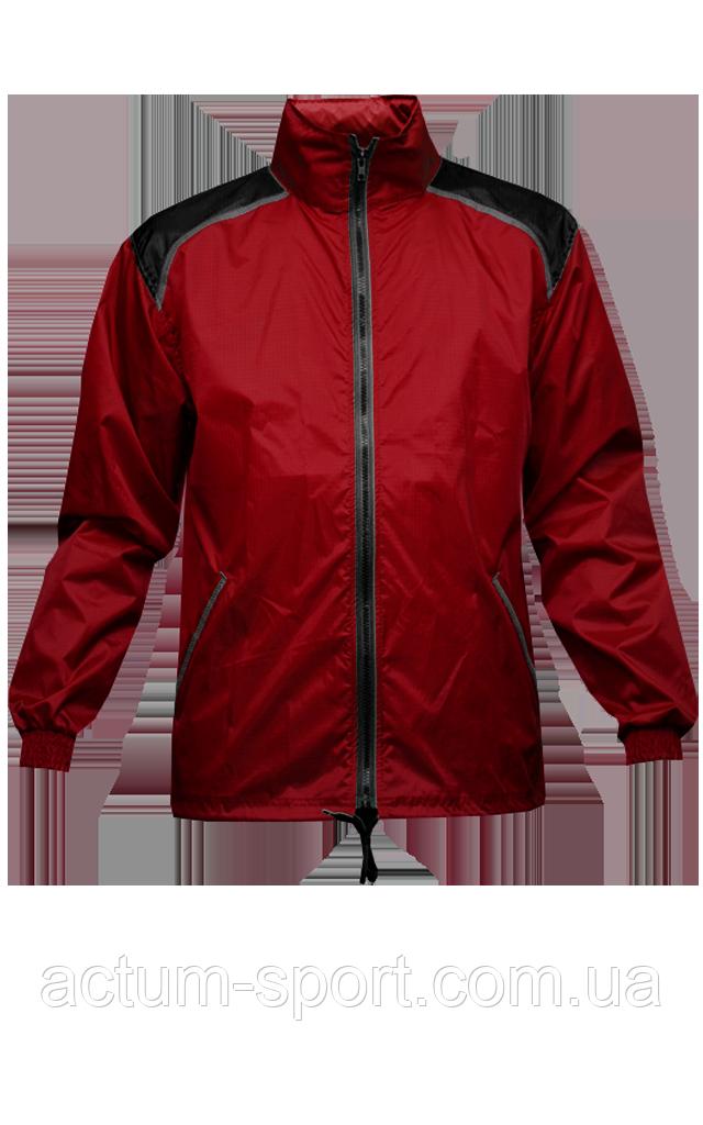 Ветровка с капюшоном Dinamo Titar красно/черная