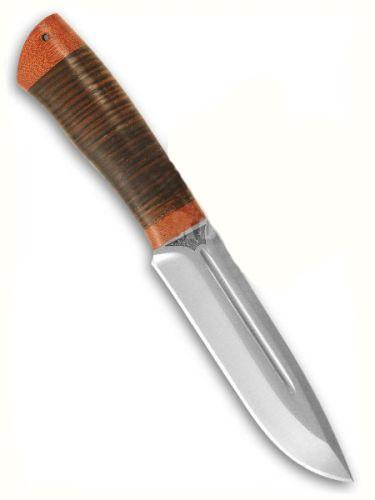"""Нож """"АиР""""  """"Селигер (кожа)"""