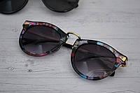 Солнцезащитные очки женские круглые