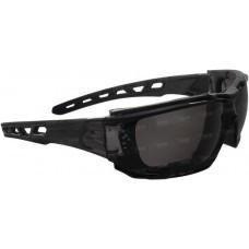Очки Swiss Eye Net , затемненное стекло, пылезащита. ц:черный