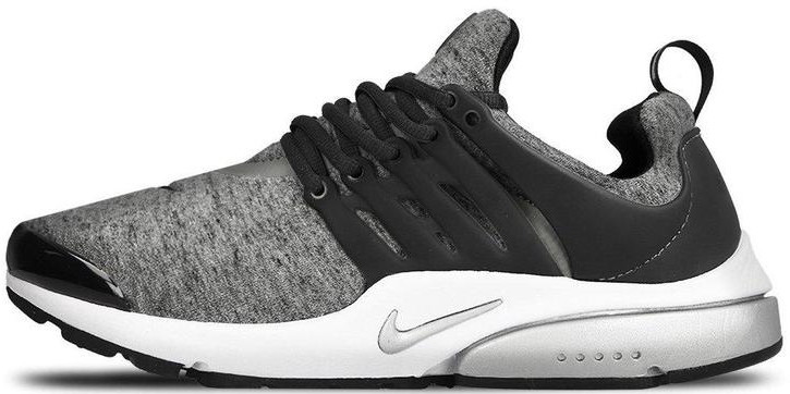 "Мужские кроссовки Nike Air Presto ""Gray/Black/White"" (Найк Аир Престо) серые"