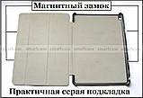 Черный ультратонкий чехол книжка Huawei Mediapad M3 10 lite BAH-L09 BAH-W09, модель TFC, фото 3