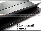 Черный ультратонкий чехол книжка Huawei Mediapad M3 10 lite BAH-L09 BAH-W09, модель TFC, фото 6