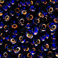 Чешский бисер для рукоделия Preciosa (Прециоза) оригинал 50г 33119-37110-10 Синий