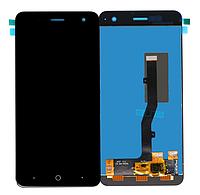 Оригинальный дисплей (модуль) + тачскрин (сенсор) для ZTE Blade V8 Mini (черный цвет)