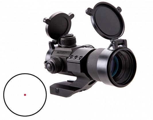 DRGB135 Коліматор NcStar Red, Green, Blue Dot Optic Black #