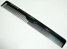Расчёска-планка парикмахерская с крючком ДенІС 06900
