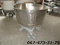 Дежа на 140 литров из нержавеющей стали