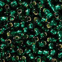 Чешский бисер для рукоделия Preciosa (Прециоза) оригинал 50г 33119-57710-10 Зеленый