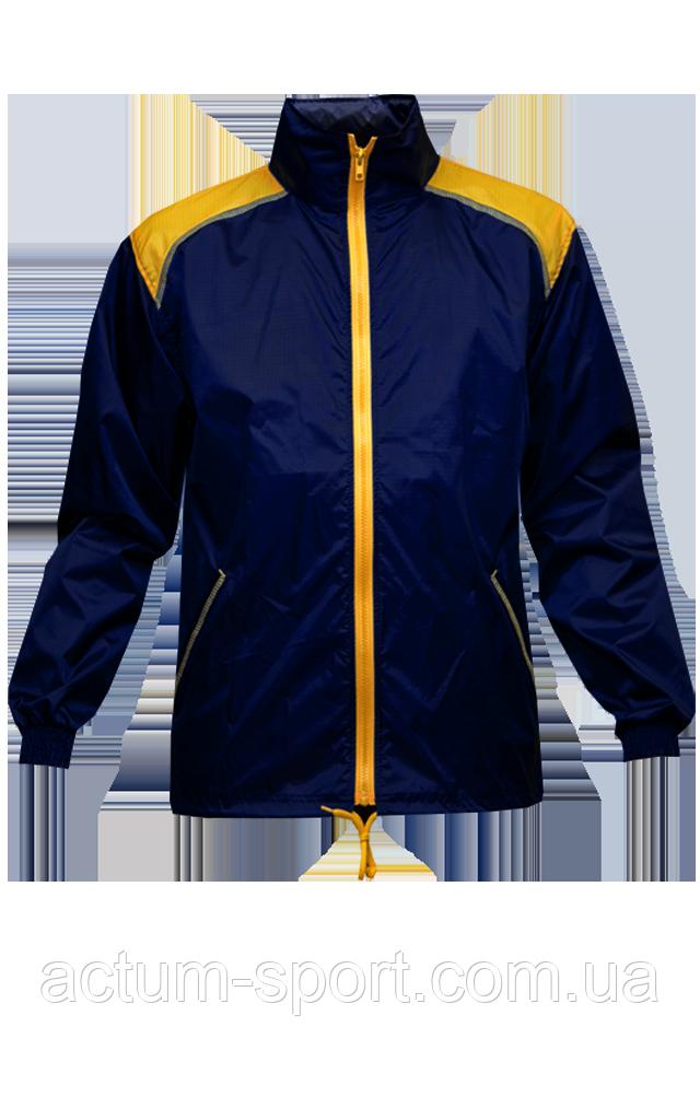 Ветровка с капюшоном Dinamo Titar темно-синяя