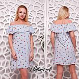 Женское платье с воланом (4 цвета), фото 3