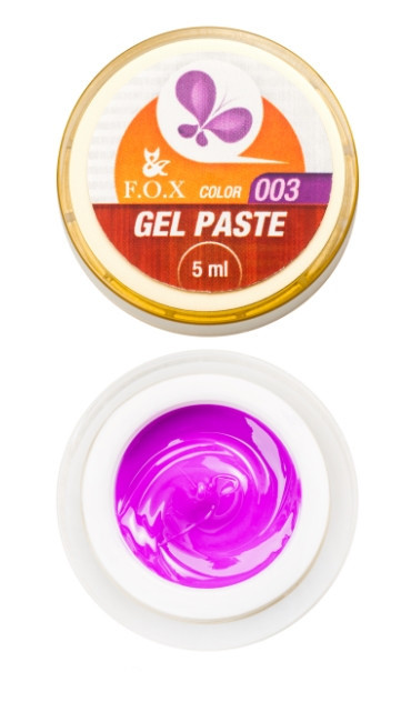 Гель-паста F.O.X Gel paste №3 (Фиолетовая) 5 мл