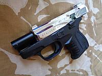Стартовый пистолет Stalker 906 хром + 25 хол. в подарок + бесплатная доставка