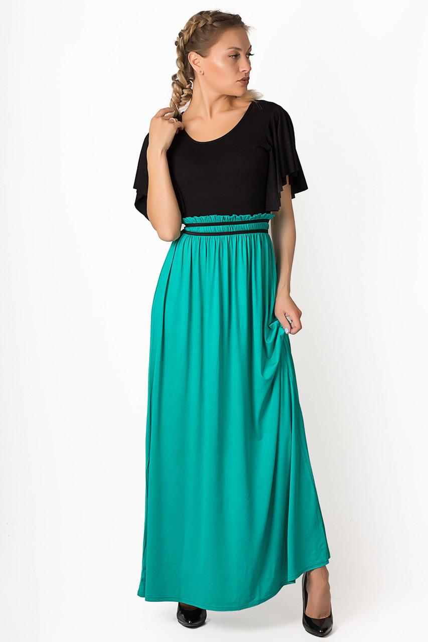 Платье LiLove р746 42-46 бирюзовый