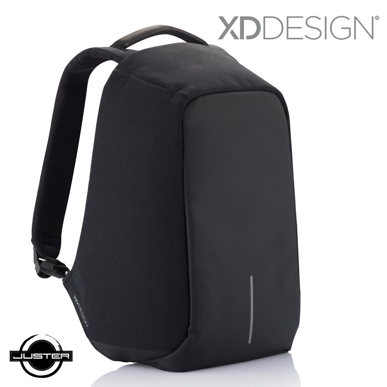 Городской рюкзак xd design bobby антивор для ноутбука 15.6 (P705.541) черный