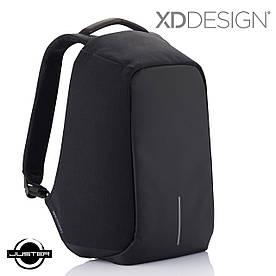 Городской рюкзак xd design bobby оригинал антивор с кодом от подделок в фирменной коробке (P705.541) черный