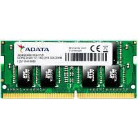 Модуль памяти для ноутбука SoDIMM DDR4 16GB 2400 MHz ADATA (AD4S2400316G17-S)