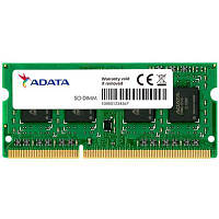 Модуль памяти для ноутбука SoDIMM DDR3L 8GB 1600 MHz ADATA (ADDS1600W8G11-S)