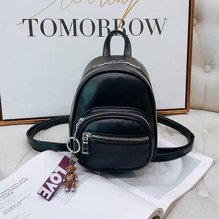 Рюкзак женский Aster Black черный, фото 2