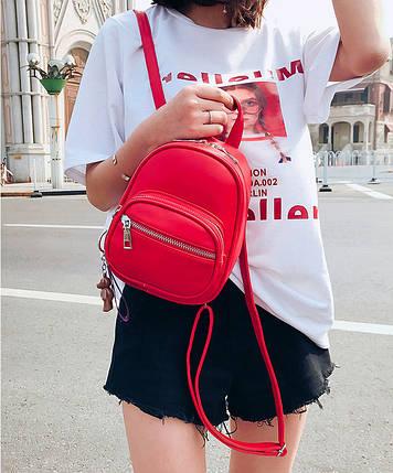 Рюкзак женский Aster Red красный, фото 2