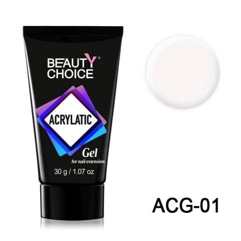 Полигель Acrylatic ACG-01 (акрилгель, акрилатик) Beauty Choice, 30г