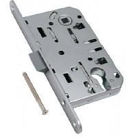 Замки для межкомнатных дверей врезной AGB Mediana Evolution PZ 18/96, никель