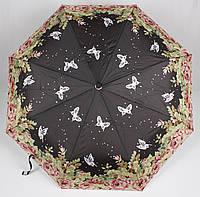 Зонт женский полуавтомат бабочки Mario, фото 1