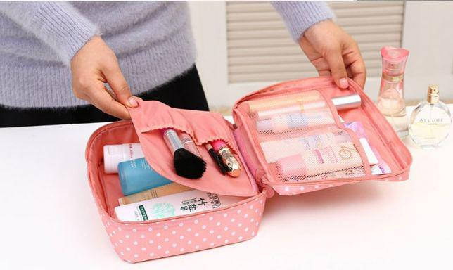 Сумка-органайзер, Косметичка, дорожня сумка для косметики. хит, акция, фото 2