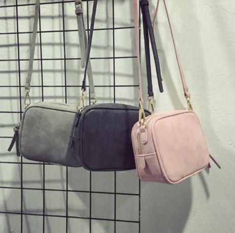 Женская сумочка на ремешке - 3 цвета, Сумка вмещает Клатчи и Кошелек