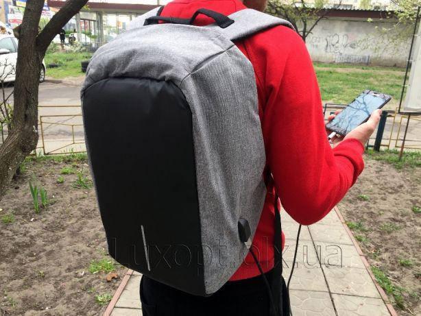 Рюкзак городской для ноутбука Бобби Антивор (Bobby XD Design) с USB-по, фото 2
