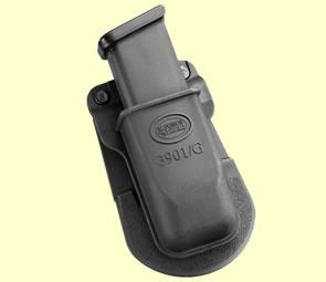 Подсумок Fobus для одного магазина Glock 17/19, с поясным фиксатором